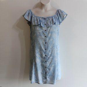 Mudd Women's Chambray Denim Dress Size XL